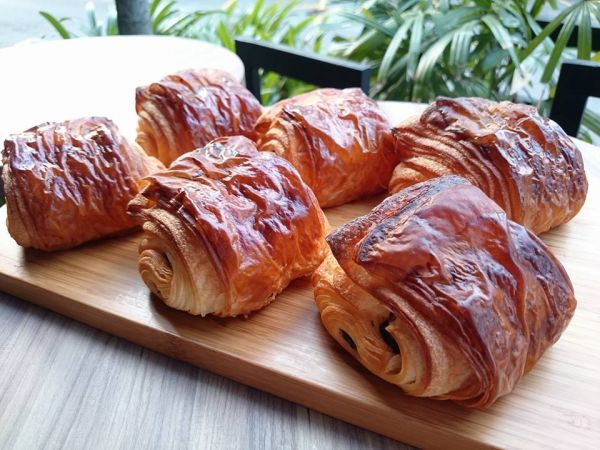 Chocolate Croissants. It's heaven in your mouth!