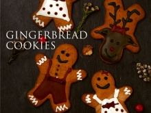Gingerbread Cookies (Mix of 10 Pieces)