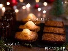 Merry Mix (3 Madeleines + 3 Canelés + 3 Financiers)