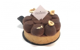 Chocolate Crème Brûlée Tarte