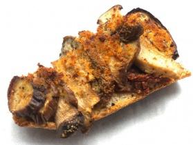 Eggplant Mushroom Tartine